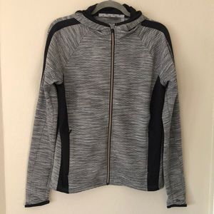 Women's Athleta grey heathered hoodie